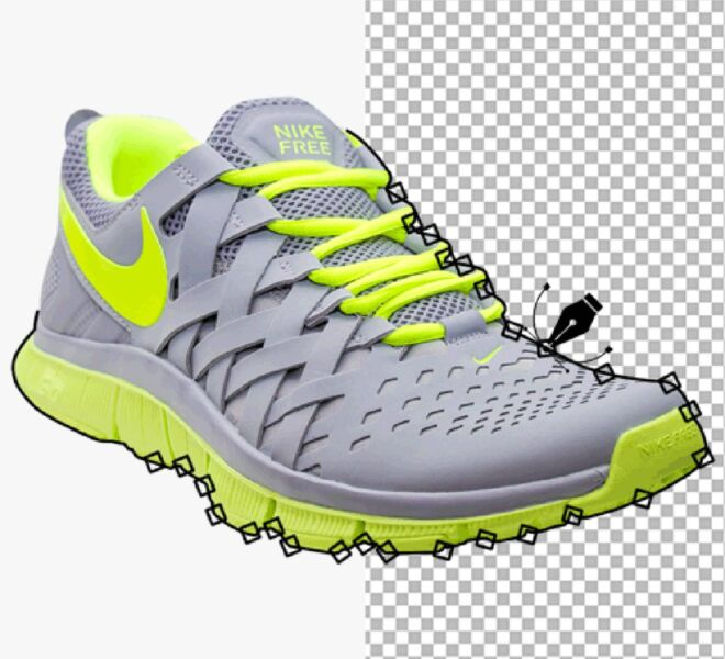 Hand Made Clipping Path